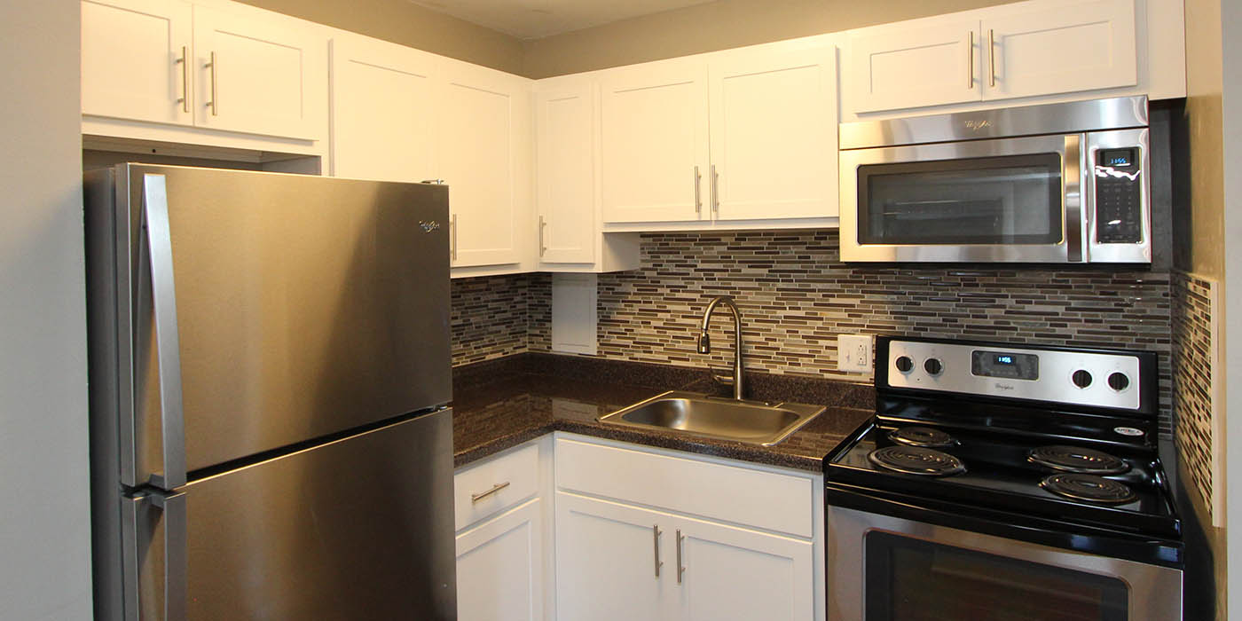 kitchen at Cypress Place