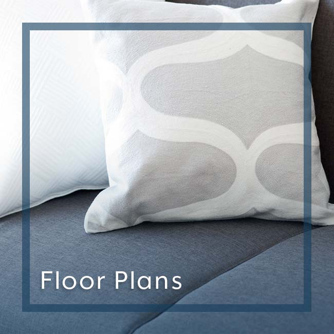 Floor plans custom graphic for Fountainhead in San Antonio