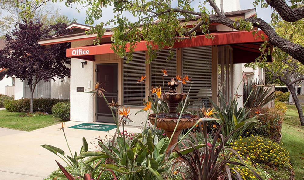 Leasing Office at Shepard Place Apartments in Carpinteria, CA