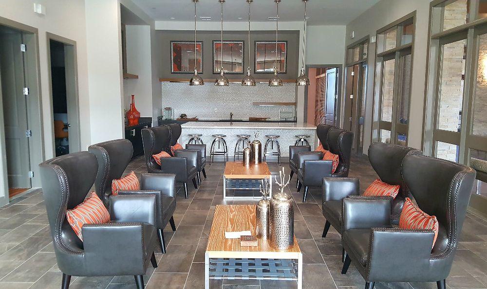 Living room at ParkLane Cypress