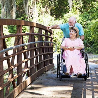 View information about assisted living at The Brookside Assisted Living Community