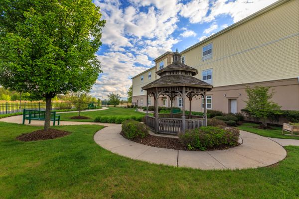 Yard at Bear Creek Senior Living Community