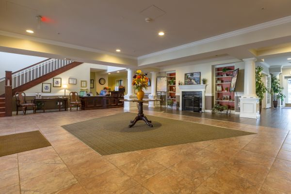 Lobby at State Street Assisted Living
