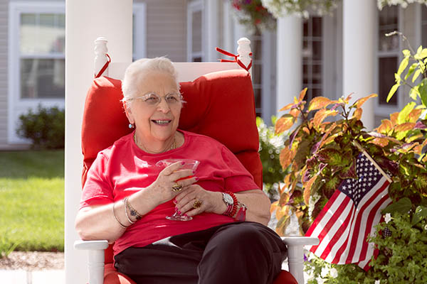 You'll feel at home at All American Assisted Living at Londonderry