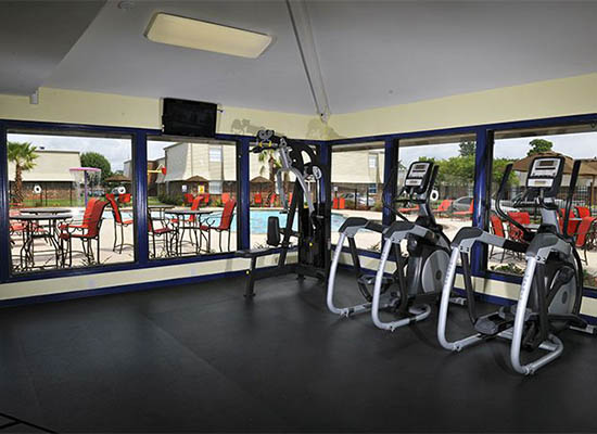 Gym Area At Emerald Pointe Apartment Homes