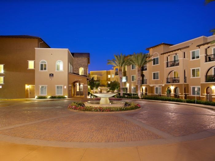 outside view of our senior living community in San Marcos, CA