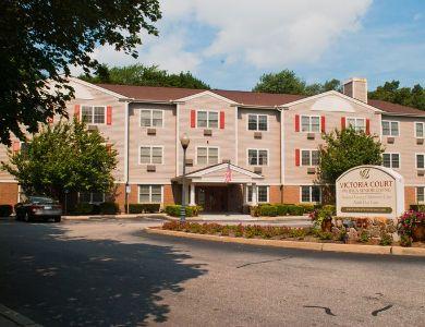 street view of Pacifica Senior Living Victoria Court in Cranston, RI