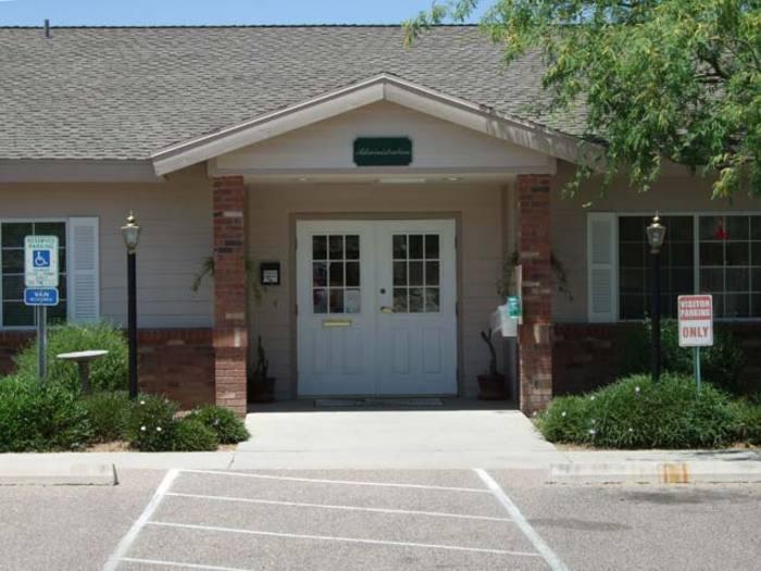 Entrance at Pacifica Senior Living Tucson