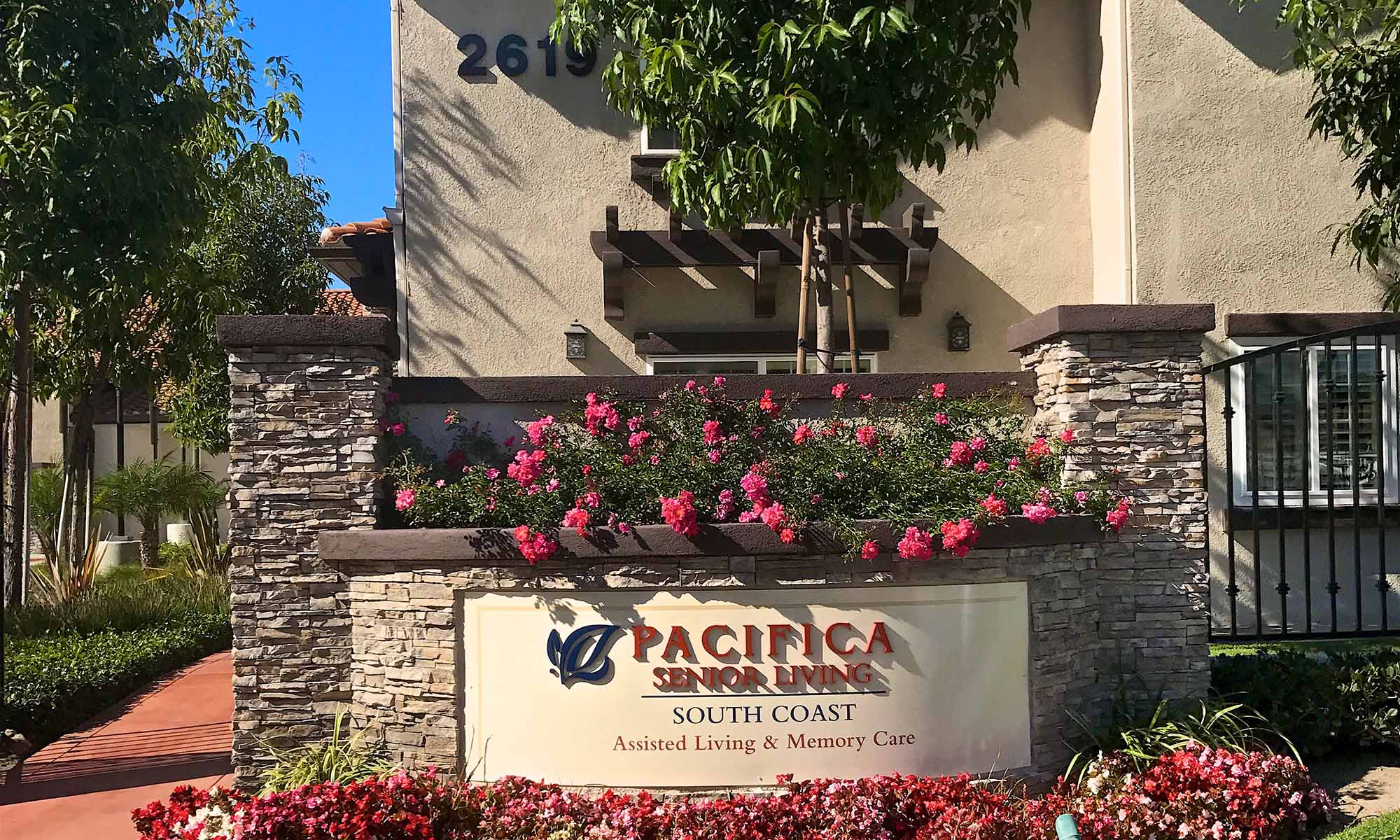 Pacifica Senior Living South Coast Exterior