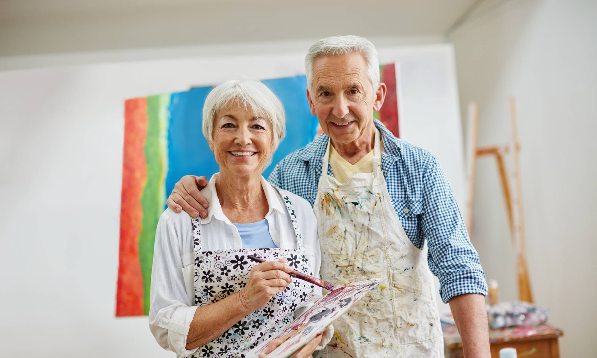 Residents can participate in arts and crafts, exercise programs, music activities or dancing at NewForest Estates