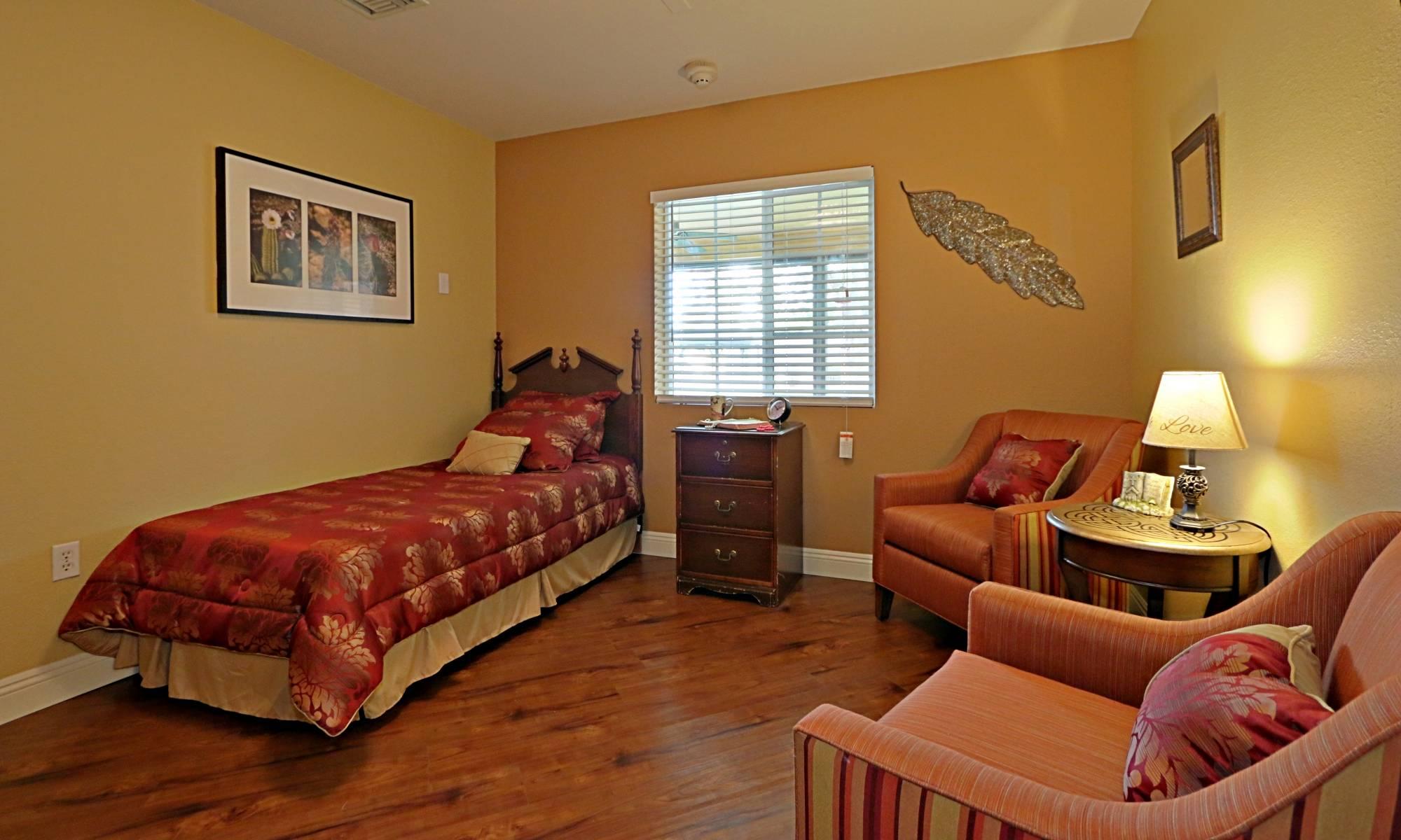Amazing and spacious room at Pacifica Senior Living Peoria