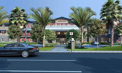 Pacifica Senior Living Oxnard entrance