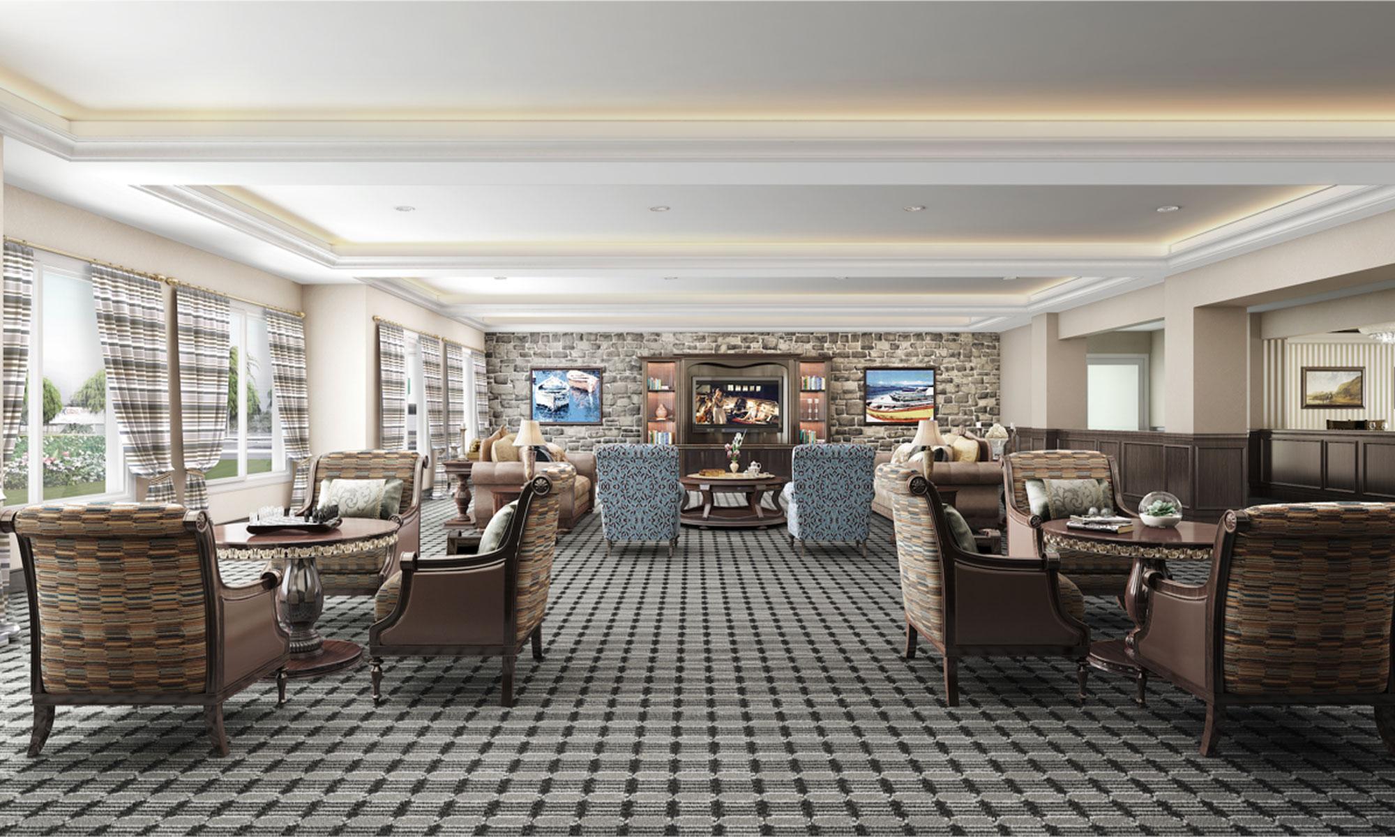 Pacifica Senior Living Oxnard interior