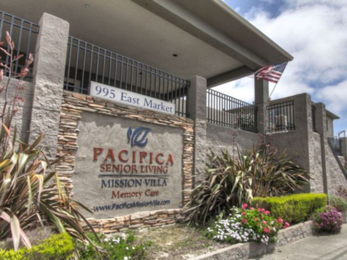 Welcome to Pacifica Senior Living Mission Villa
