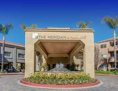 Entrance to our senior living community in Anaheim