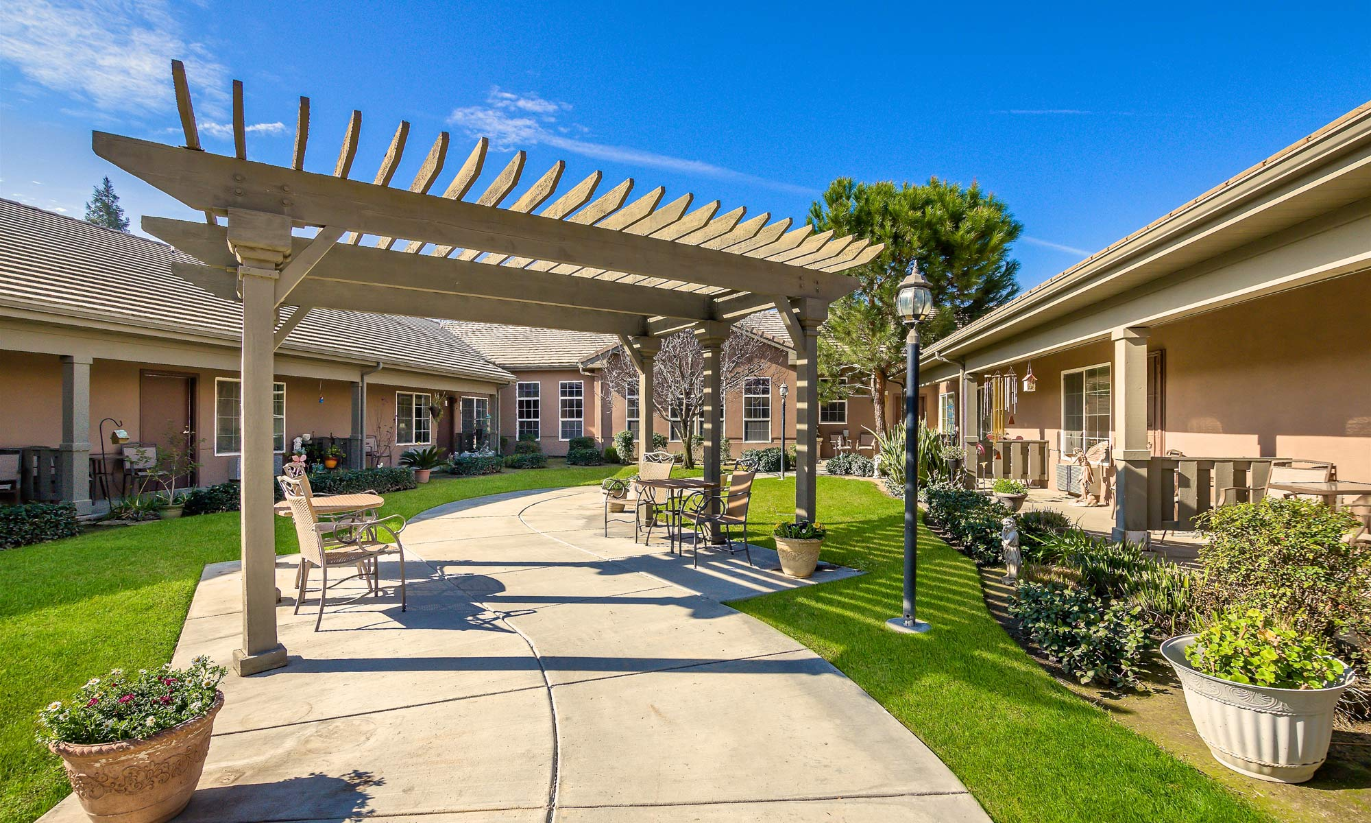 Take a nice walk through Pacifica Senior Living Bakersfield