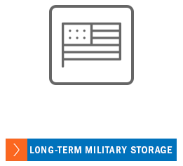 Long term military storage at A-1 Car Storage