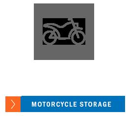 Motorcycle storage at A-1 Car Storage - Oceanside