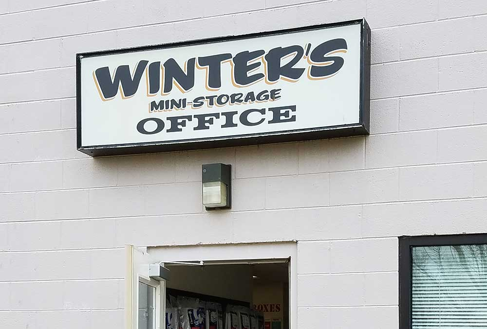Welcome to Winter's Storage