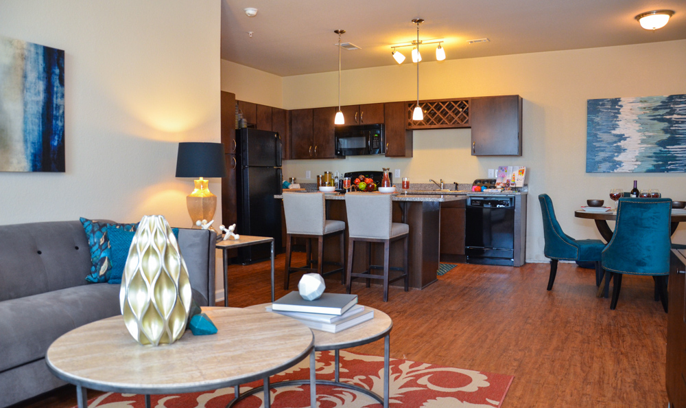 Open Floor Plans At Springs at Alamo Ranch Apartments