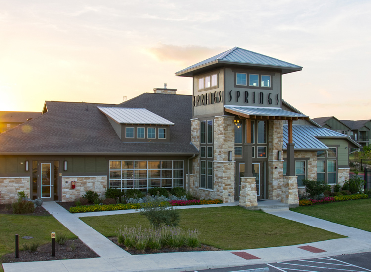 Clubhouse at Springs at Memorial in Oklahoma City