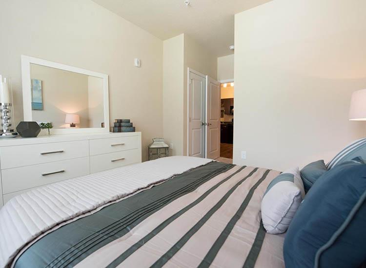Bedroom At Springs at Cottonwood Creek Apartments