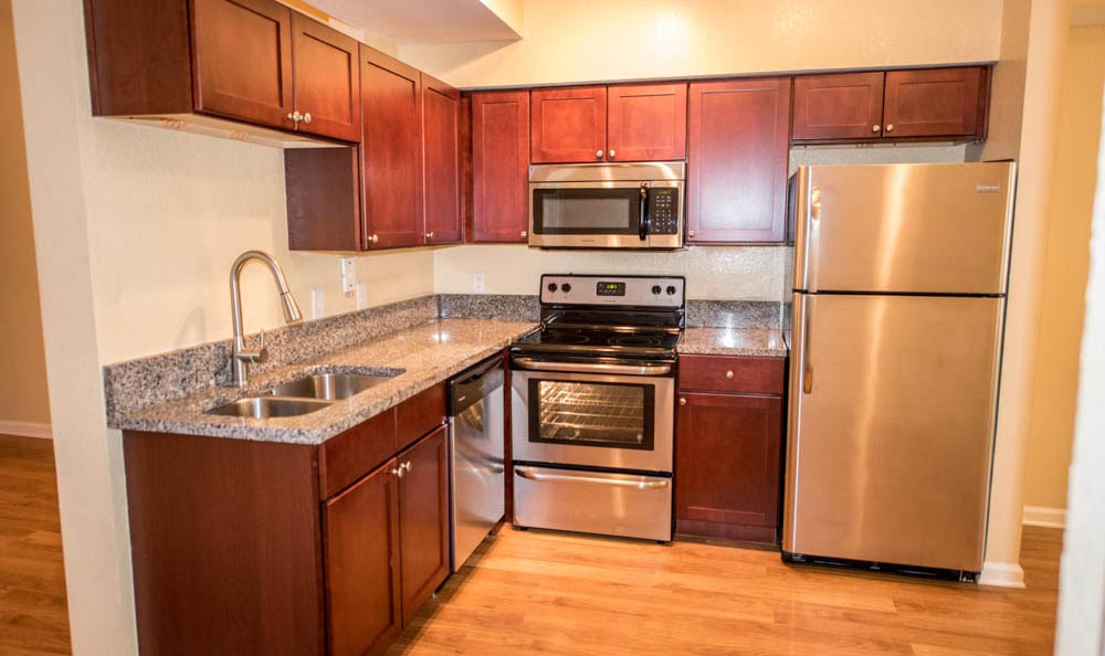 Stainless Steel Appliances At Springs at Braden River