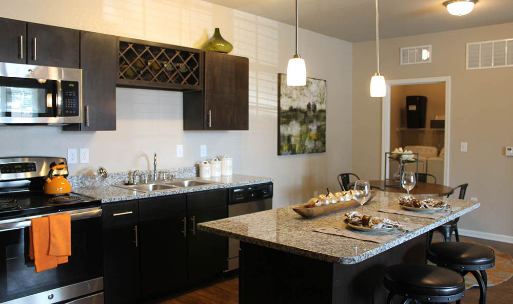 Kitchen Island At Springs at Round Rock
