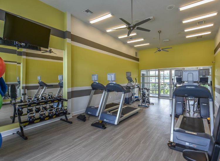 Fitness center at Springs at Juban Crossing