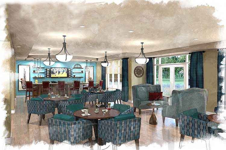 The lounge at Arcadia Senior Living Bowling GreenBowling Green  KY Senior Living   Arcadia Senior Living Bowling Green. Cost Of Assisted Living In Nova Scotia. Home Design Ideas