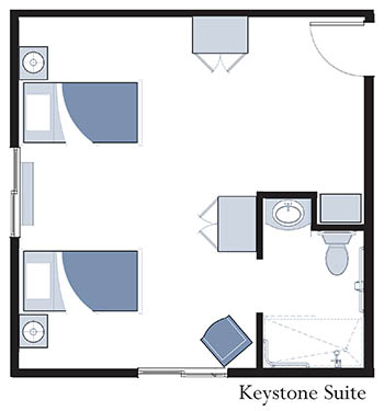 Keystone Suite at Oxford Glen Memory Care at Owasso