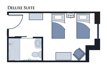 Deluxe Suite at Glen Carr House Memory Care