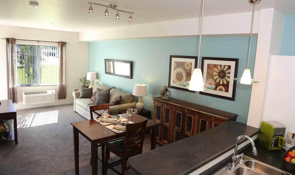 Photos Of Corso Apartment Homes In Missoula - Living room missoula