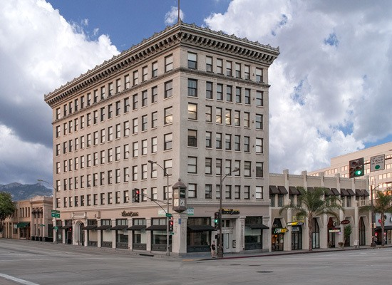 Barker Pacific Group manages the 225 E. Colorado building