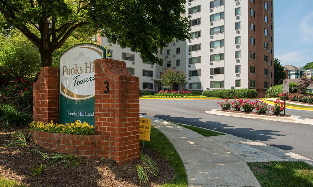 Welcome to Pooks Hill Tower and Court in Bethesda