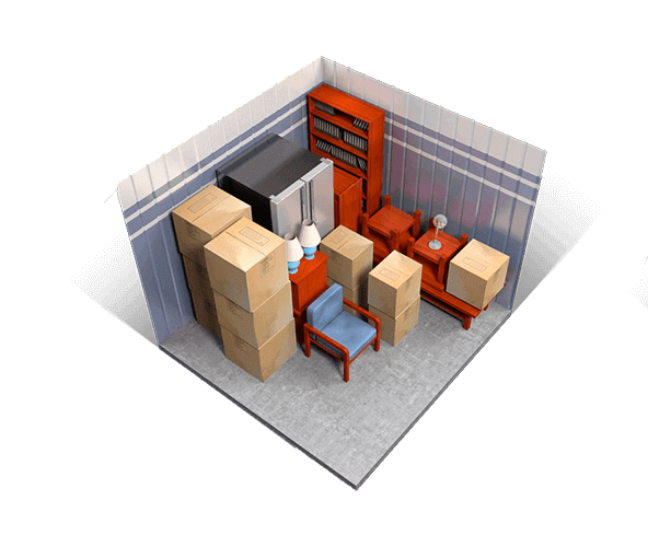 10 x 10 storage units available at A+ Mini Storage