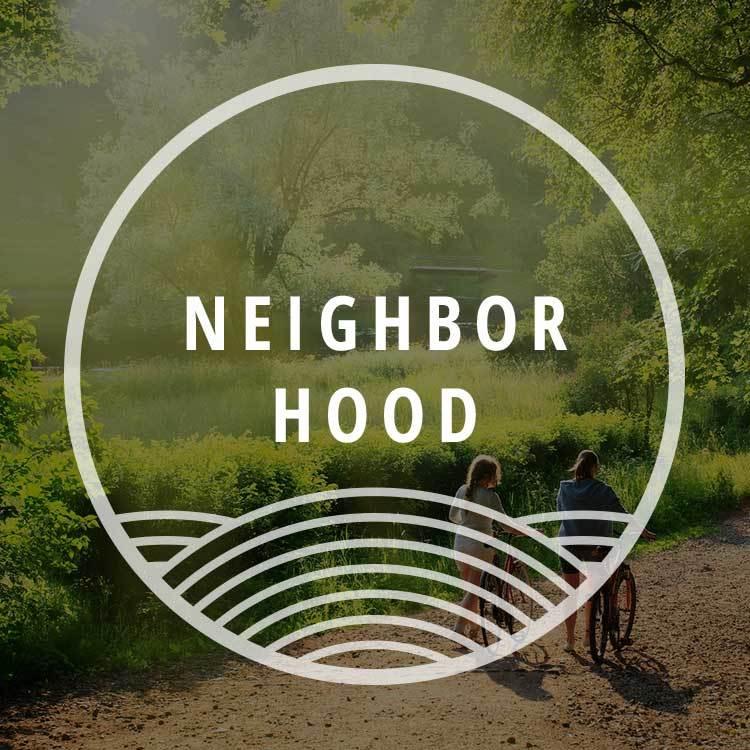 Neighborhood at Bradley Park Apartments