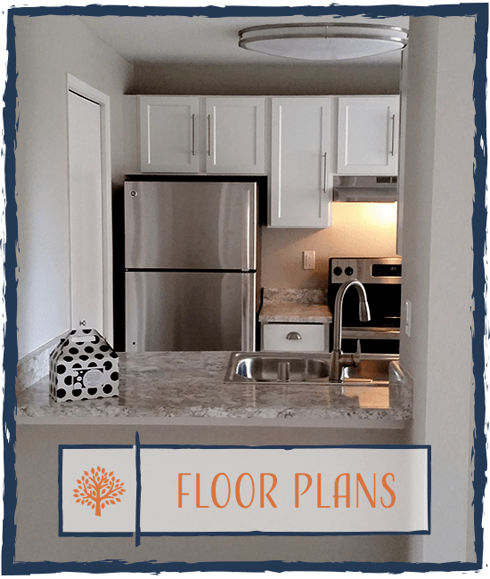 Learn more about the the floor plan options at Chestnut Hills Apartments