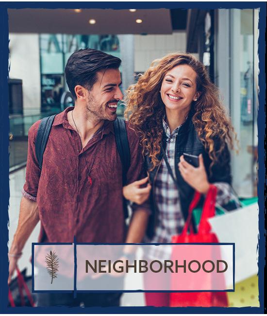 Neighborhood at Hamptons Apartments