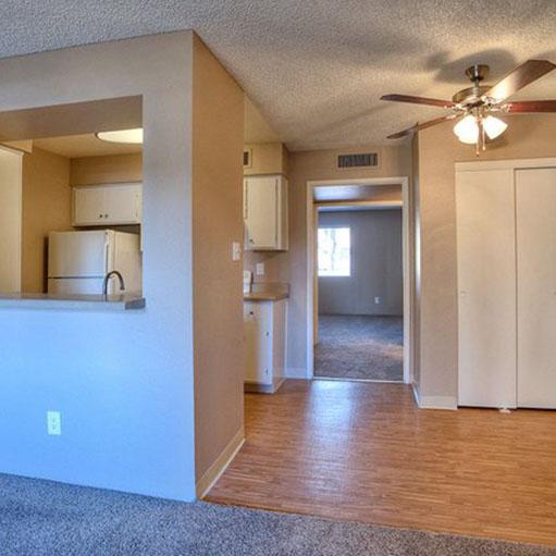 Villetta Apartments offers spacious floor plans in Mesa, AZ