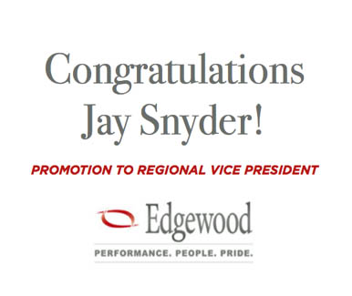 Jay Snyder promoted to regional vice president