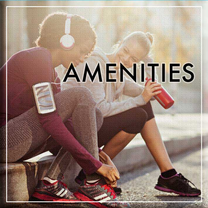Affordable amenities at Columbia Commons