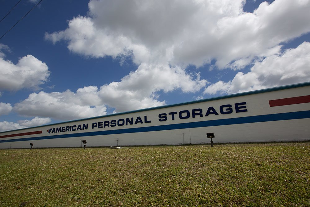 Exterior view of American Personal Storage in Port St Lucie