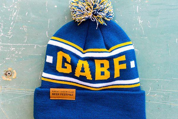 gabf blue beannie
