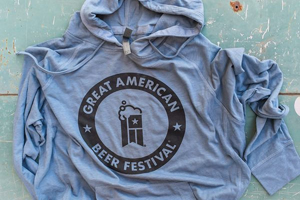 gabf lightweight blue hoodie