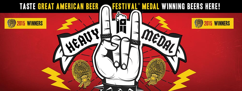 GABF Heavy Medal Booth