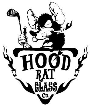Hood Rat Glass