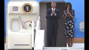Obama leaves India