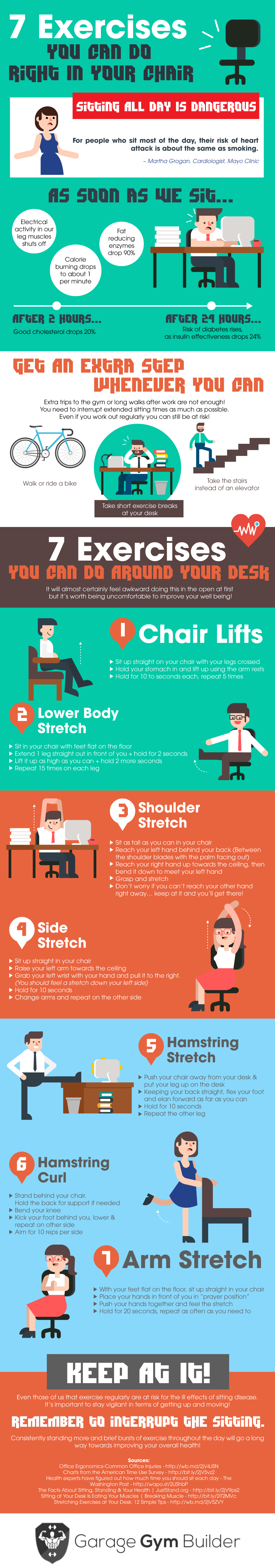 7 exercises you can do in your chair