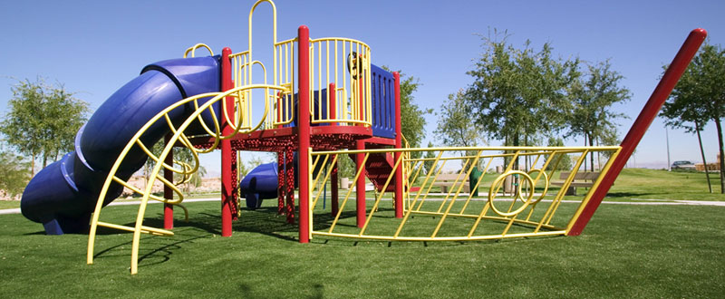 SYNLawn synthetic turf playground